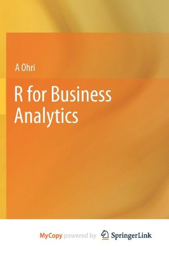 9781461443445: R for Business Analytics