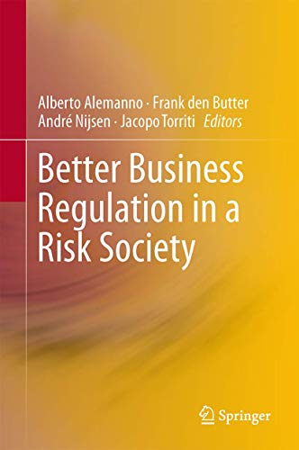 9781461444053: Better Business Regulation in a Risk Society