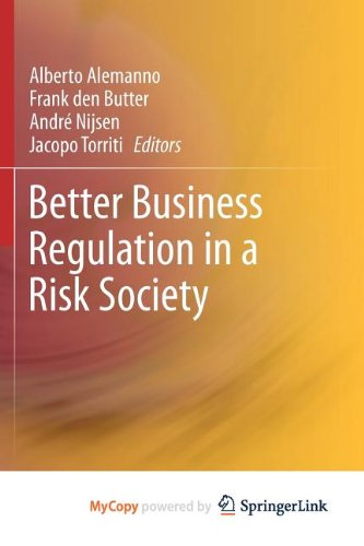 9781461444077: Better Business Regulation in a Risk Society