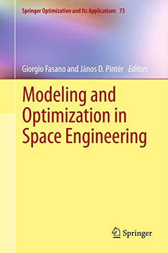 9781461444688: Modeling and Optimization in Space Engineering (Springer Optimization and Its Applications)