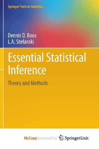 9781461448198: Essential Statistical Inference: Theory and Methods