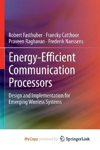 9781461449935: Energy-Efficient Communication Processors