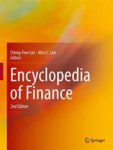 9781461453598: Encyclopedia of Finance