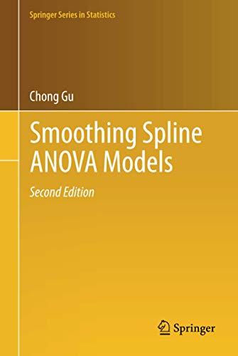 9781461453680: Smoothing Spline ANOVA Models