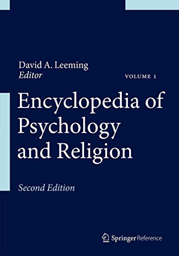 9781461460855: Encyclopedia of Psychology and Religion