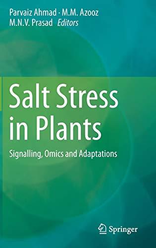 Salt Stress in Plants: Parvaiz Ahmad