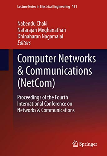 Computer Networks Communications (NetCom) (Hardback)