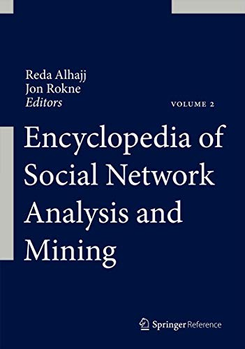 9781461461692: Encyclopedia of Social Network Analysis and Mining