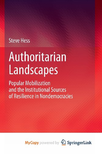 9781461465386: Authoritarian Landscapes: Popular Mobilization and the Institutional Sources of Resilience in Nondemocracies
