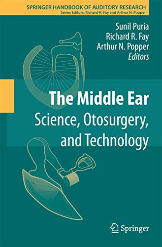 9781461465904: The Middle Ear: Science, Otosurgery, and Technology (Springer Handbook of Auditory Research)