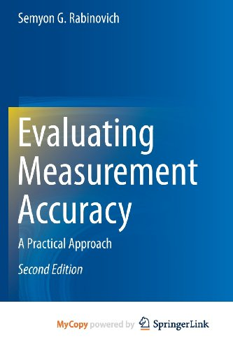 9781461467182: Evaluating Measurement Accuracy: A Practical Approach
