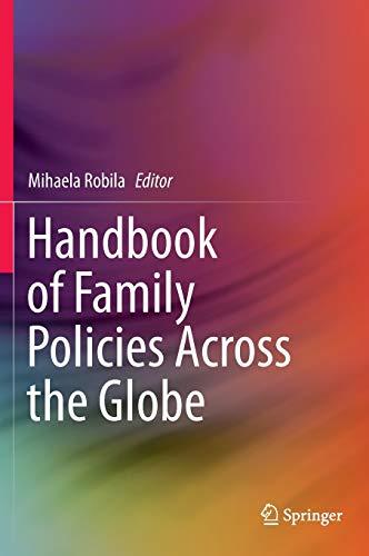 9781461467700: Handbook of Family Policies Across the Globe