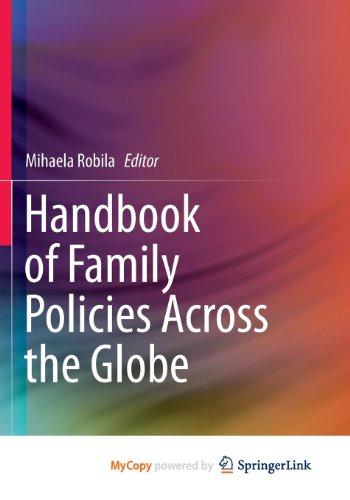 9781461467724: Handbook of Family Policies Across the Globe