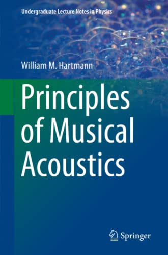 Principles of Musical Acoustics