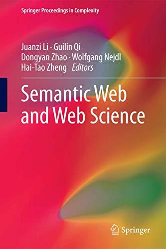 Semantic Web and Web Science: Juanzi Li
