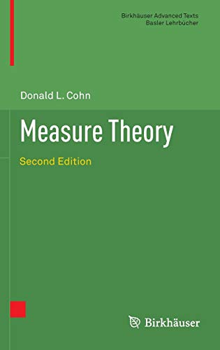 9781461469551: Measure Theory: Second Edition (Birkhäuser Advanced Texts Basler Lehrbücher)