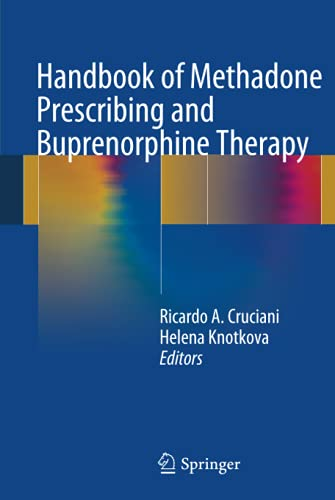 9781461469735: Handbook of Methadone Prescribing and Buprenorphine Therapy