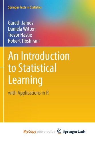9781461471394: An Introduction to Statistical Learning: with Applications in R