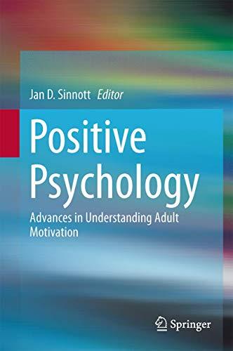 Positive Psychology: Jan Sinnott