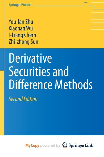 9781461473077: Derivative Securities and Difference Methods