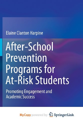 9781461474173: After-School Prevention Programs for At-Risk Students: Promoting Engagement and Academic Success