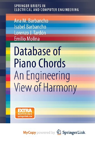 9781461474777: Database of Piano Chords