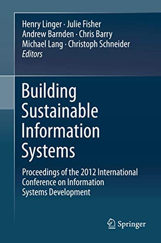 Building Sustainable Information Systems: Proceedings of the 2012 International Conference on ...