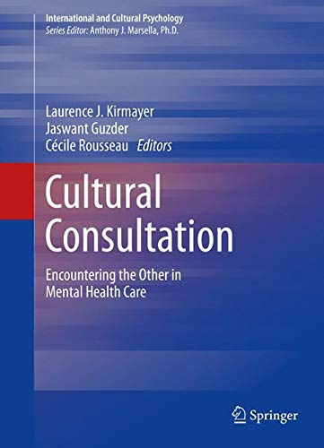 9781461476153: Cultural Consultation (International and Cultural Psychology)