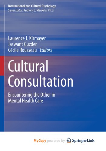 9781461476160: Cultural Consultation: Encountering the Other in Mental Health Care