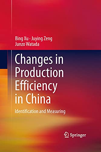 9781461477204: Changes in Production Efficiency in China