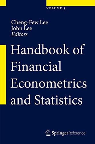 9781461477518: Handbook of Financial Econometrics and Statistics