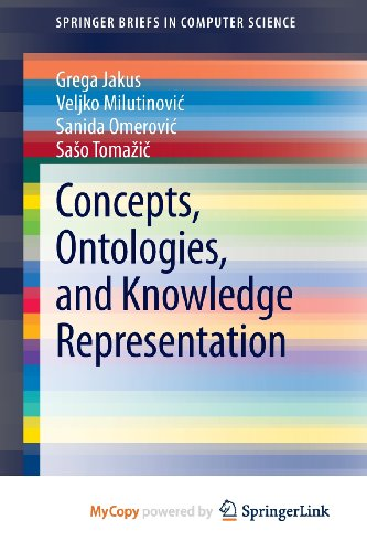 9781461478232: Concepts, Ontologies, and Knowledge Representation
