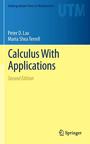 9781461479451: Calculus With Applications (Undergraduate Texts in Mathematics)