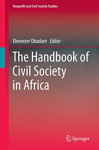 The Handbook of Civil Society in Africa (Nonprofit and Civil Society Studies)