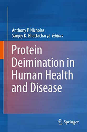9781461483168: Protein Deimination in Human Health and Disease