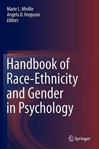9781461488590: Handbook of Race-Ethnicity and Gender in Psychology