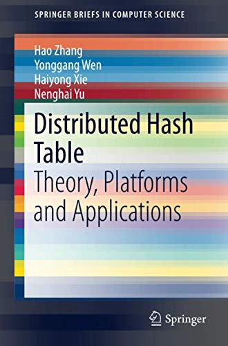 9781461490074: Distributed Hash Table: Theory, Platforms and Applications (SpringerBriefs in Computer Science)