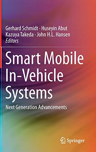 9781461491194: Smart Mobile In-Vehicle Systems: Next Generation Advancements
