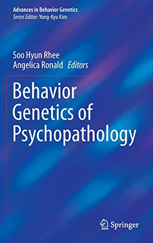 9781461495086: Behavior Genetics of Psychopathology (Advances in Behavior Genetics)