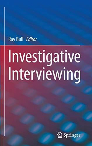 9781461496410: Investigative Interviewing