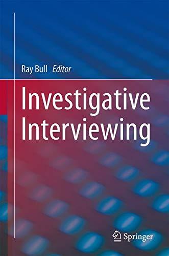 9781461496427: Investigative Interviewing