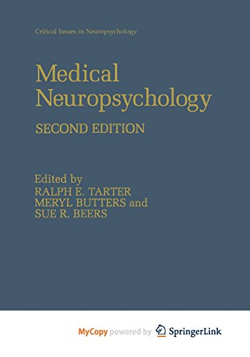 9781461512882: Medical Neuropsychology: Second Edition