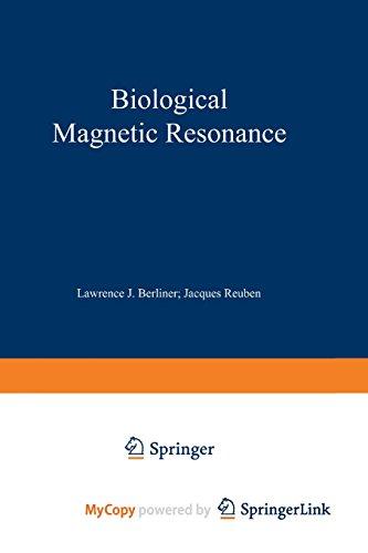 9781461565383: Biological Magnetic Resonance: Volume 2