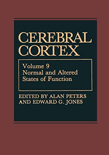 9781461566243: Cerebral Cortex: Normal and Altered States of Function