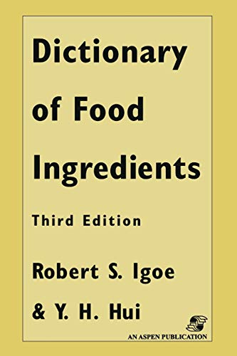 9781461568377: Dictionary of Food and Ingredients
