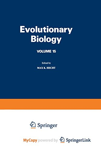 9781461569695: Evolutionary Biology: Volume 15