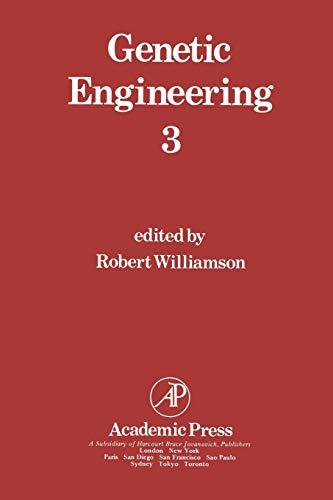 9781461570806: Genetic Engineering 3 (Genetic Engineering: Principles and Methods)