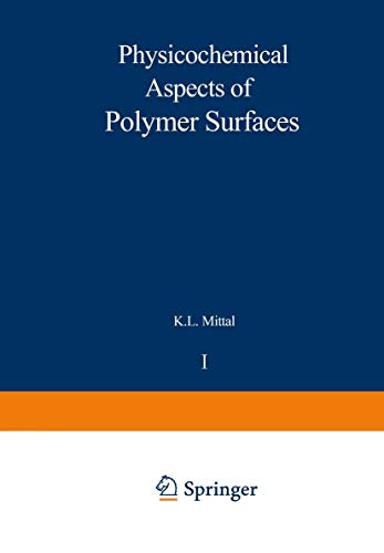 9781461575863: Physicochemical Aspects of Polymer Surfaces: Volume 1