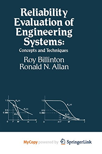 9781461577294: Reliability Evaluation of Engineering Systems: Concepts and Techniques