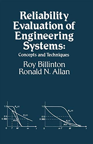 9781461577300: Reliability Evaluation of Engineering Systems: Concepts and Techniques